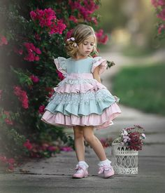 Pastel colours with a bit of sparkle are the perfect combination for this summer. Available to purchase via our stockist . Little Girl Models, Cute Little Girl Dresses, Baby Girl Party Dresses, Little Girl Outfits, Dresses Kids Girl, Little Girl Fashion, Kids Outfits, Kids Fashion, Flower Girl Dresses