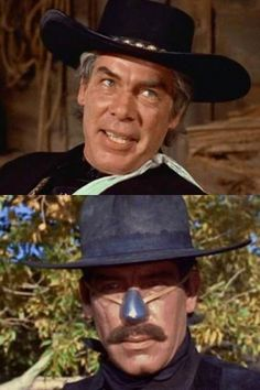 Lee Marvin in Cat Ballou (dual roles).  One of the best characters EVER.