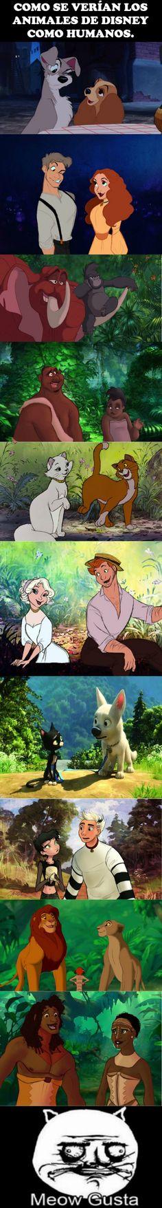 Los animales de Disney en su forma humana, ¿cuál es tu favorito?        Gracias a http://www.cuantocabron.com/   Si quieres leer la noticia completa visita: http://www.estoy-aburrido.com/los-animales-de-disney-en-su-forma-humana-cual-es-tu-favorito/