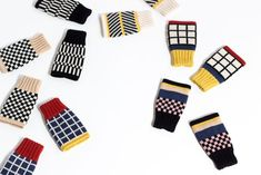 Candyland our new autum/winter collection of colorful knit accessories. Have a look at our cheerful knit hats, headbands and short mittens. Knitting Accessories, Candyland, Winter Collection, Bunt, Mittens, Headbands, Knitted Hats, Knitwear, Gloves