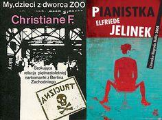 """Ryszard Turczyn przez 14 lat namawiał polskie wydawnictwa do wydania """"Pianistki"""" Elfriede Jelinek. Doprowadził też do opublikowania """"My, dzieci z dworca ZOO"""" Christiane F.  (fot. materiały prasowe)"""