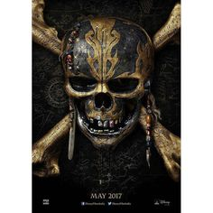 Presentinvg the first look poster of Disney's #PiratesOfTheCaribbeanDeadMenTellNoTales. Releases May 2017.  #PiratesOfTheCaribbean #PiratesOfTheCaribbean5 #JohnnyDepp #firstlook #poster #movieposter #firstlook #movie #film #celebrity #bollywood #bollywoodactress #bollywoodactor #bollywoodmovie #actor #actress #filmywave