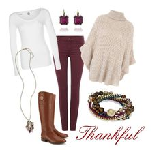 Casual Thanksgiving by katherineinsley-candi on Polyvore featuring polyvore, fashion, style, Jane Norman, G-Star, 7 For All Mankind, Tory Burch and Chloe + Isabel