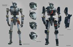 Image result for robot shield art
