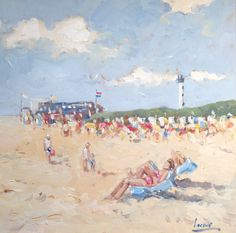 Summer in Holland, Holliday, Sun, Beach.