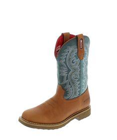Rocky Boots BARNTEC RKW0127 M Brown Teal wasserdichter Westernreitstiefel - braun grün Rocky Boots, Sport, Fashion Boots, Cowboy Boots, Horseback Riding, Get Tan, Deporte, Sports, Cowboy Boot
