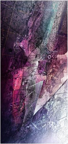 Urban mapping as art Architecture Mapping, Architecture Graphics, Architecture Drawings, Architecture Plan, Landscape Architecture, Map Design, Graphic Design, Urban Mapping, Urban Planning