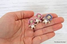 Pink Mouse Boutique: How to Make a Tiny One Inch Baby (Crochet Pattern)...