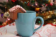 Craft to Inspire: Gingerbread houses for your mugs - Casinha de biscoitos de gengibre para suas canecas