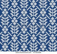 Fairisle Jacquard Seamless Knitting Pattern