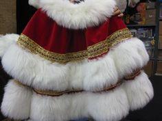 Santa Claus Double Shawl collar                                                                                                                                                                                 More