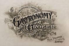Gastronomy Grocer on Behance