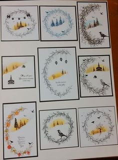 was inspired when the rep showed me some lovely cards made using card-io stamps... these are my efforts by Sue @ Crafty Urchins.