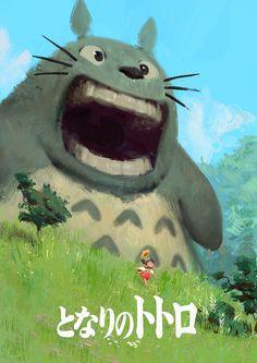 Totoro fanart by Zedig on deviantART