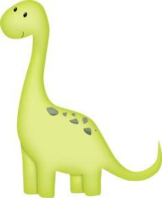 "Photo from album ""Dinos"" on Yandex. Dinosaur Images, Cartoon Dinosaur, Cute Dinosaur, Die Dinos Baby, Baby Dinosaurs, Dinosaur Birthday Party, 2nd Birthday, Dinosaur Crafts, Baby Art"