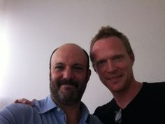 Me and Paul Bettany