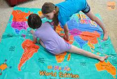 Discover the world map map games and play mats learning resources world treasure hunt map google search gumiabroncs Image collections