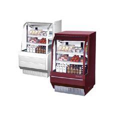 Gabinetes para postres y delicatessen/ Desserts and delicatessen cabinets.