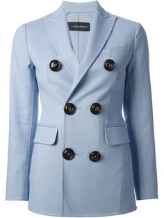 Dsquared2 Double Breasted Jacket - Stefania Mode - Farfetch.com