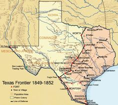 Texas frontier 1849