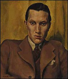 Edwin Headley Holgate 1892 - 1977, Canadian The Actor (Portrait of Charles Rittenhous)