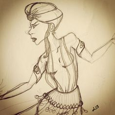 Game of Thrones inspired. Oriental Dancer