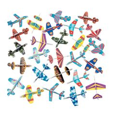 Airplane Party - Glider Assortment - OrientalTrading.com