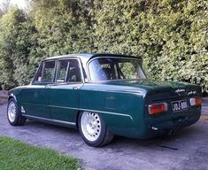 Alfa Alfa, Alfa Romeo Giulia, Classic Italian, Cars Motorcycles, Cool Cars, Classic Cars, Automobile, Sport, Wheels