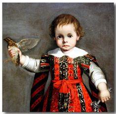 Алессандро Виталий (итальянский, 1580-1630) - Фредерико, принц Урбино в возрасте до восемнадцати лет Months.Detail.1606Detroit института искусств, Детройт,