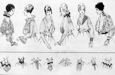 Blouse Fashion ~ 1916
