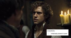 Enjolras does NOT care about your lonely soul.