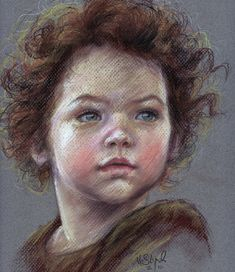 maya pastel study by suburbanangst traditional art drawings portraits ...900 x 1041 | 357.9 KB | suburbanangst.deviantart.co...