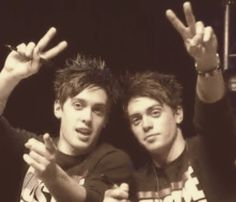 The twins from Justice Crew, John & Lenny Pearce.