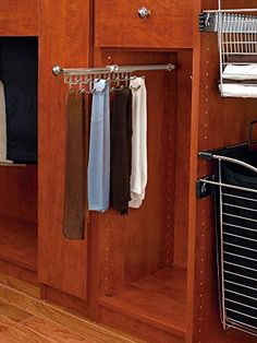 RevAShelf  CTR14SN  14 in Satin Nickel PullOut TieScarf Rack >>> See this great product.