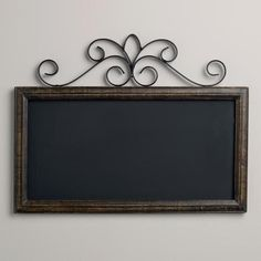 Chalkboard Wall Plaque - World Market from Cost Plus World Market. Shop more products from Cost Plus World Market on Wanelo. Decor, Metal Decor, Nursery Wall Decals Boy, Wall Decor, Home Decor, Chalkboard, Chalkboard Wall, Metal Homes, Wall Decals