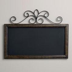 Chalkboard Wall Plaque at Cost Plus World Market >> #WorldMarket Artistic Inspiration