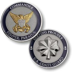 U s Coast Guard Commander USCG Challenge Coin | eBay
