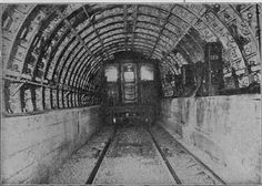 old timey tunnel