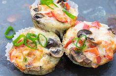 Diese Gemüse-Muffins sind super leicht und schnell zubereitet und schmecken richtig lecker. Einfach, gesund und natürlich Low Carb.