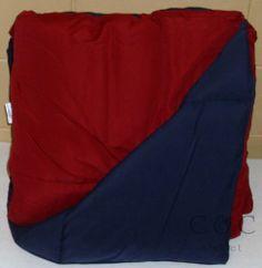 Home Classics NEW Reversible Down Alternative Red Navy Blue Full Queen Comforter