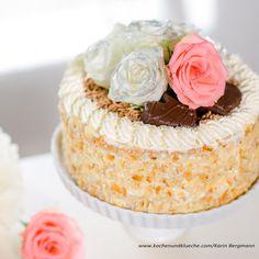Maronitorte Vanilla Cake, Pasta, Desserts, Food, Goals, Kitchen, Bakken, Breads, Cake Ideas