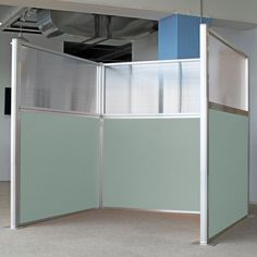 DIY Cubicles are a hot item w/ no tools necessary. These modern workstations will look great in any office with 20+ fabric options.