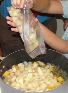 Three Sisters Stew & other Native American activities