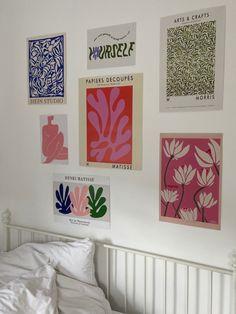 Room Ideas Bedroom, Bedroom Decor, Bedroom Inspo, Bedroom Colors, Bedroom Inspiration, Bedroom Wall, Wall Decor, Ps Wallpaper, Pastel Room