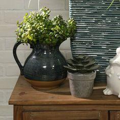 World Menagerie Esmeralda Table Vase Set World Menagerie, Ceramic Decor, Vase Holder, Flowering House Plants, Table Vases, Vase Set, Vase, Milk Table, Ceramic Table