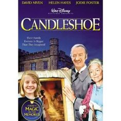 Jodie Foster long ago.  Really a fun kids' movie with Helen Hayes.  Jodie is a tough con-artist kid who goes to an English estate to search for a hidden treasure and pretend she is the missing heir.