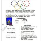 Decimal Olympics Math Games and Activities (Common Core Math Get students excited for learning about decimals with this FREE Decimal Olympics math activity!