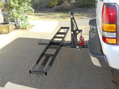 Travel Trailer Tires, Bike Trailer, Trailer Build, Trailer Hitch, Motorcycle Carrier, Motorcycle Gear, Off Road Camping, Camping Car, Welding Trailer