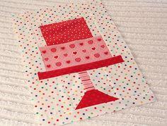 PKM fabric...Cake Walk pattern by Bee in my Bonnet
