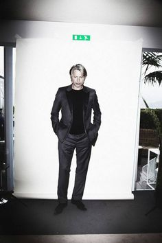 Actor Mads Mikkelsen is photographed for L'optimum on May 15 2012 in Cannes, France